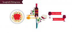 Lasagna clipart food and wine