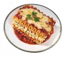 Lasagne clipart white sauce