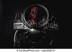 Laser clipart space man