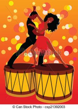 Latin clipart dance contest