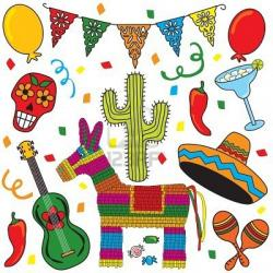 Paella clipart mexican culture