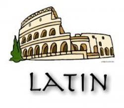Latin clipart latin language