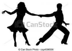 Latin clipart merengue dance