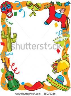 Latin clipart mexican fiesta