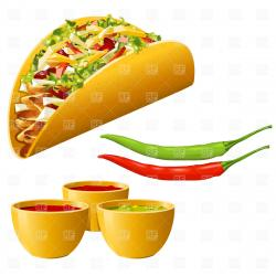 Chile clipart mexico food
