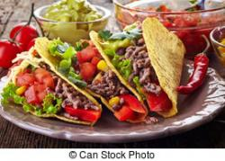 Latin clipart mexican food