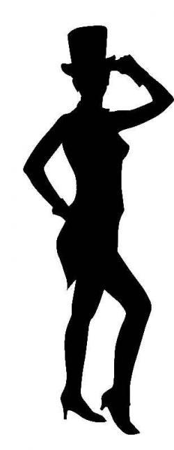 Top Hat clipart dancer