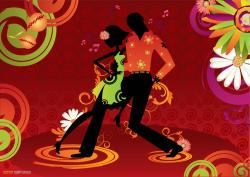 Cuba clipart couple dance