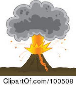 Lava clipart ash