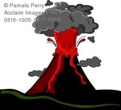 Lava clipart for kid