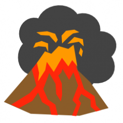 Lava clipart physical geography