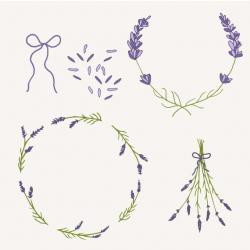 Lilac clipart drawing