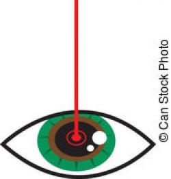 Laser clipart eye