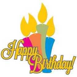 Laser clipart happy birthday