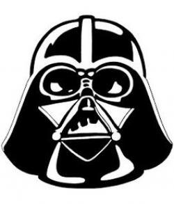 Star Wars clipart darth vader