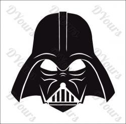 Darth Vader clipart full body