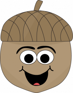 Acorn clipart cartoon
