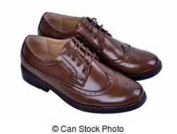 Leather clipart gents shoe