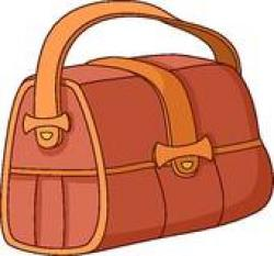 Leather clipart leather bag