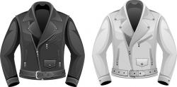 Leather clipart leather jacket