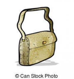 Leather clipart satchel