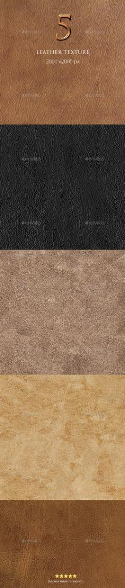 Leather Textures clipart psd