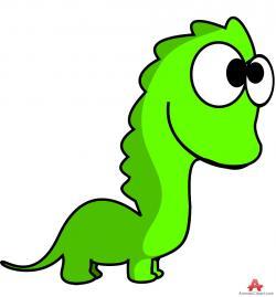 Stegosaurus clipart green