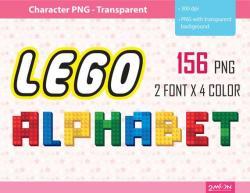 Lego clipart alphabet