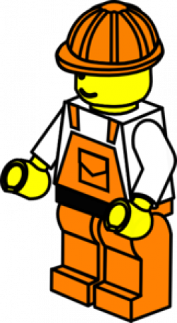 Lego clipart construction worker