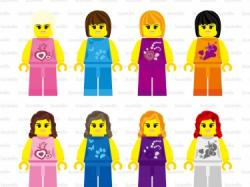 Lego clipart digital
