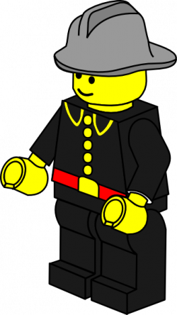 Lego clipart firefighter