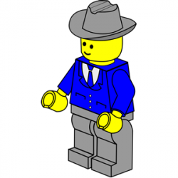 Lego clipart isometric