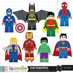Lego clipart lego marvel