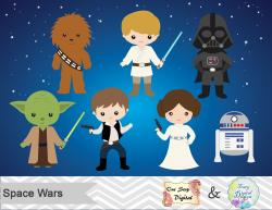 Star Wars clipart digital
