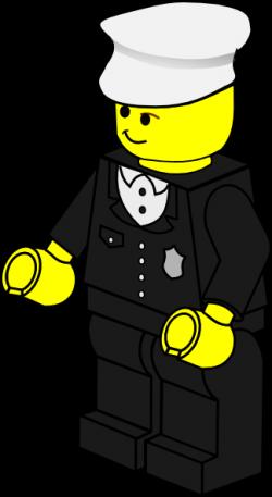 Lego clipart policeman