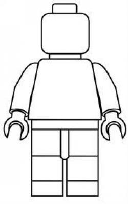 Lego clipart scared
