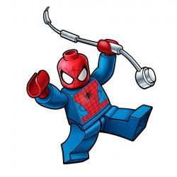 Lego clipart spiderman birthday