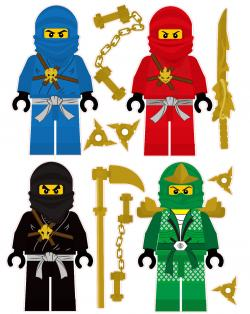 Lego clipart sticker