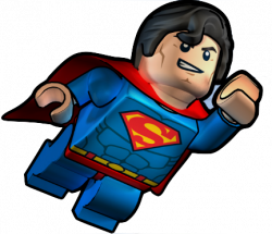 Lego clipart superman
