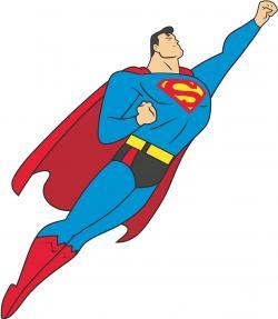 Superman clipart vector