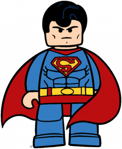 Lego clipart superman cartoon