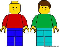 Lego clipart template