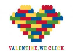 Lego clipart valentine