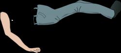 Legs clipart arm leg