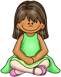 Sitting clipart Sitting On Floor Clipart