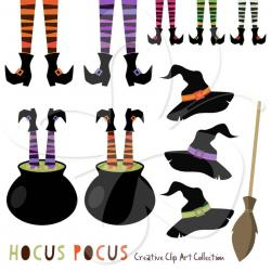 Legz clipart cute halloween witch