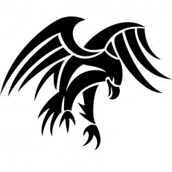 Tribal clipart eagle head