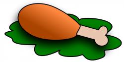 Mutton clipart chicken drumstick