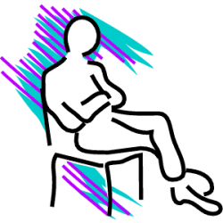 Legz clipart leg crossed