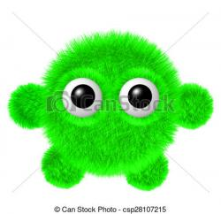 Fluffy clipart furry monster